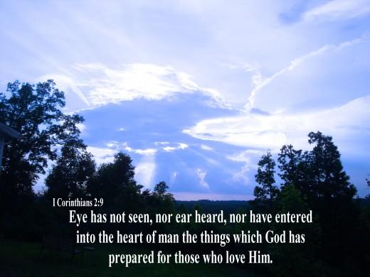 God has prepared something good for us.