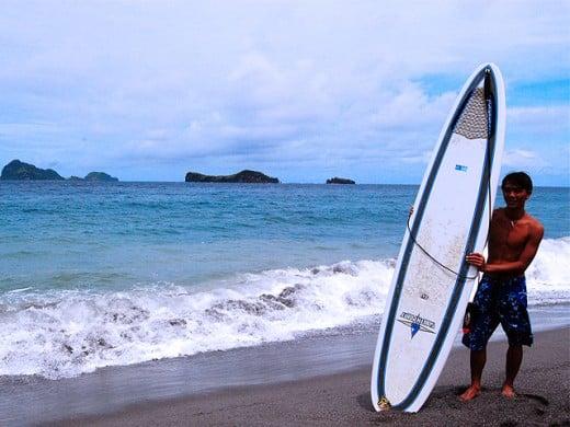 Zambales Surfing