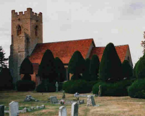 Borley Church, where the Borley Rectory stood, also included a cemetery on its grounds. Were some of the cemetery's residents restless?
