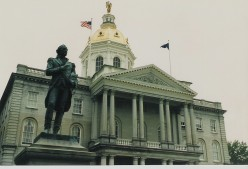 State House, Concord, New Hampshire.