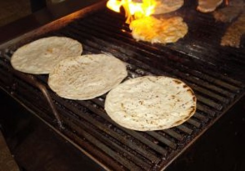 Make your own tortillas or purchase ready-made for the recipe below.