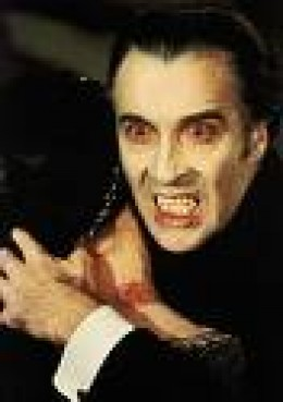 Christopher Lee took Dracula closer in league with the Devil.