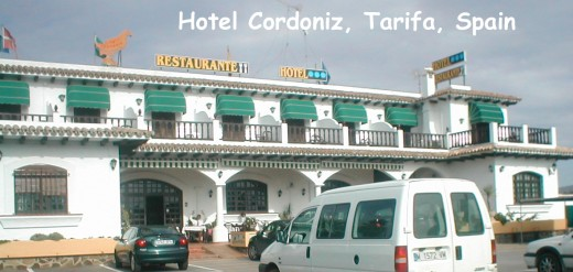 The Hotel Cordoniz, Spanish word for quail actually serves quail on toast in their restaurant