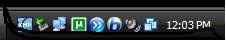 Windows XP system icons