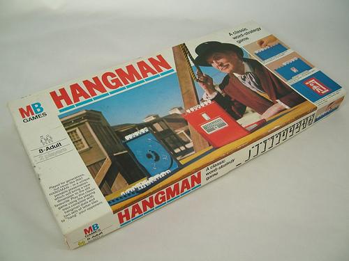 Vintage Hangman Game