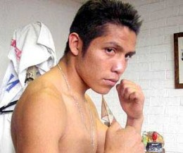 "ALEJANDRO ""Payasito"" Hernandez, 23, with a fight record of 22 wins, 7 losses and 11 knockouts.  He's a Mexican."
