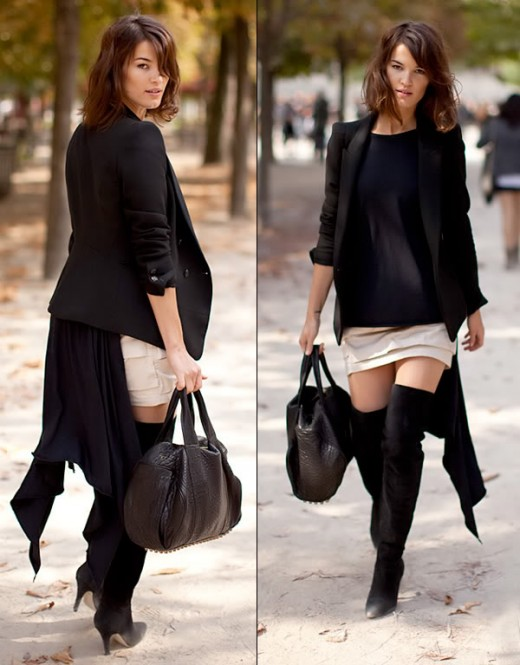Designer Fashion Boots -Shopper in Paris