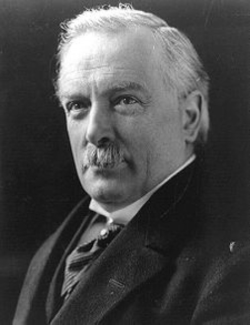 Last Liberal Prime Minister, 1916 - 1922: David Llloyd George; founder of the Welfare State,        Wiki picture