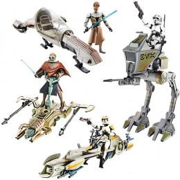 StarWars figures - Clone Wars