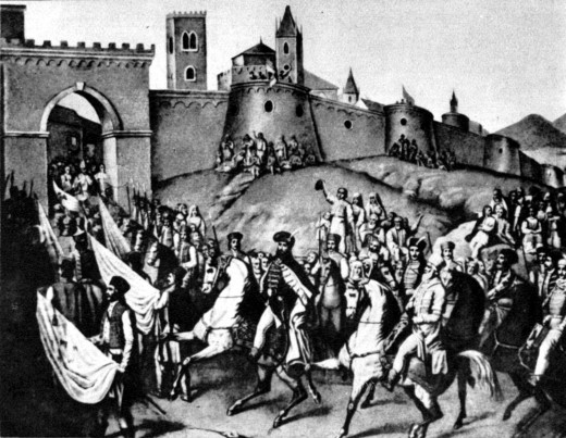 1599, and Prince Micheal's Entrance into the city