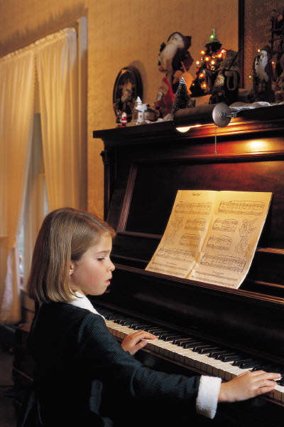 Children's piano lessons are a lifetime gift
