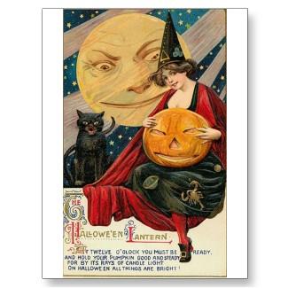 Vintage Halloween Postcards at Zazzle.com