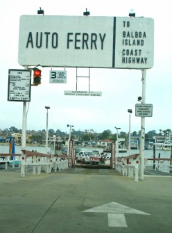 Balboa ferry to Balboa Island