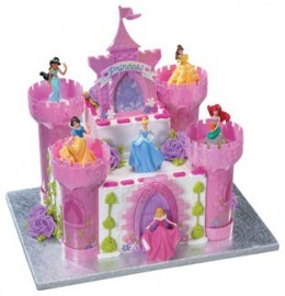 You can actually order a mold to make this castle cake if you're talented.