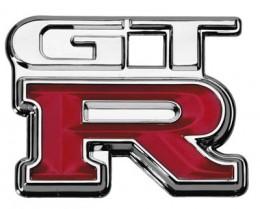 The legendary Skyline GTR Badge