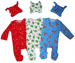 Footie pajamas are great for babies!