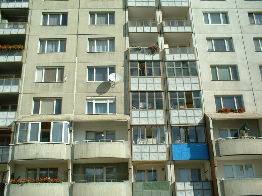 The construction of identical grey flats for all Bratislava inhabitants was the main 'success' of socialism. Me, my parents, my grandparents we all lived there and my children have been born there.