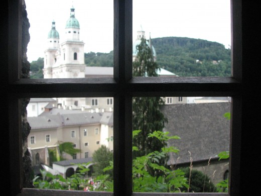 The concept of collective guilt...I looked through the same window they used to see the Jews to be rounded up and...