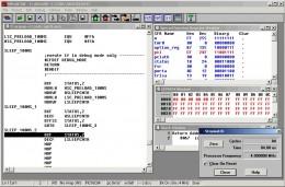 Microchip mplab screenshot