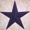 Decorating with Rustic Metal Stars
