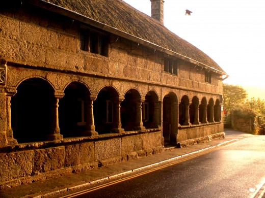 Moretonhampstead, Alms Houses