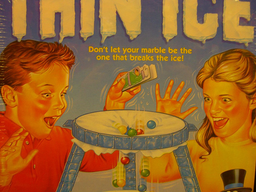 Vintage Thin Ice Game