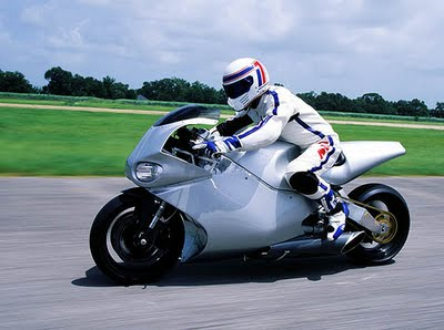 The Y2K jet bike powered by a helicopter engine!