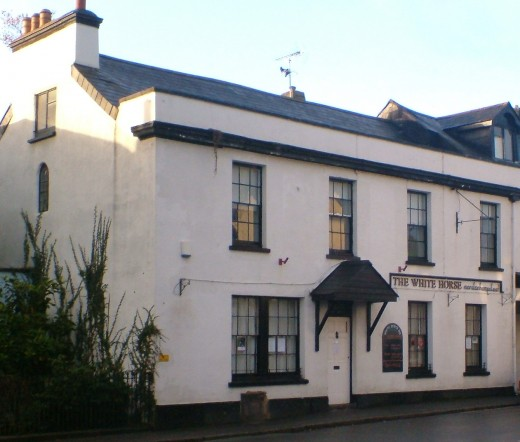 The White Horse, Moretonhampstead