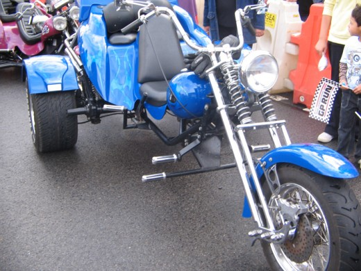My favorite color Blue Bikes