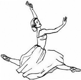 Free Ballerina Ballet Dance Kids Coloring Pages and Free Colouring Pictures to Print