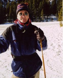 Cross country Skiing to Montezuma Pass