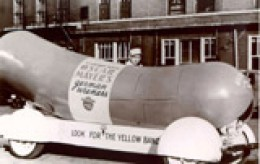 Courtesy of Kraft Foods the original Weinermobile