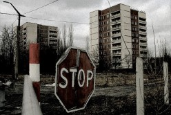 Chernobyl (Ukraine  Chornobyl) Nuclear Power Station Disaster - Many buildings still unuseable because of radioactivity
