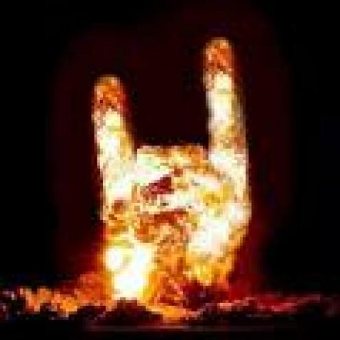 Satanic Hand Sign