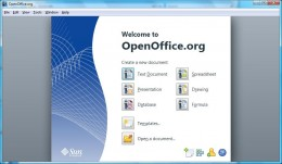 To pull your HTML page into Open Office, click Open A Document