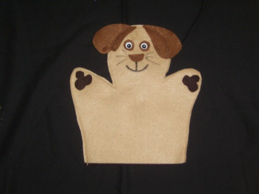 Scruffy the Dog Puppet