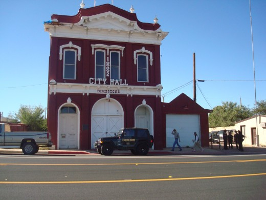 City Hall, Tombstone, Arizona