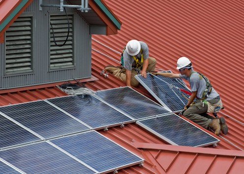 When you lease solar panels, the upfront cost is reduced