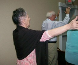 Never losing faith. Janette Rone continued to worship God during her long illness.