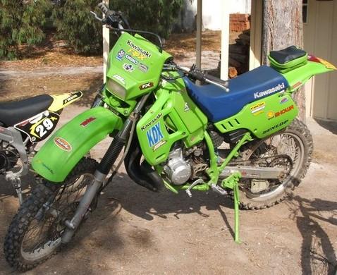 My 1990 KDX200
