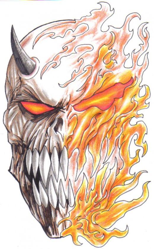Fantasy art drawing - artwork copyright Wayne Tully 2009.