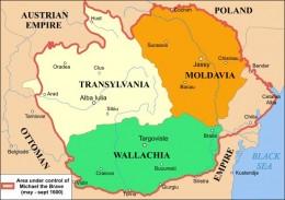 Roumanin states around 1600