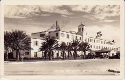 Hotel De Anza, Calexico, California