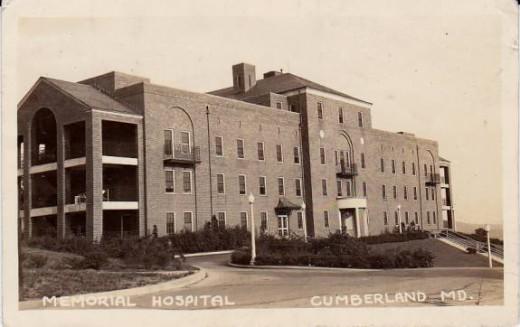 Memorial Hospital, Cumberland, Maryland