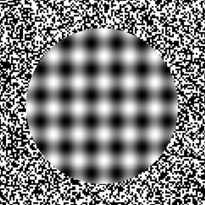 Focus and you may be able to see the center is not really moving.