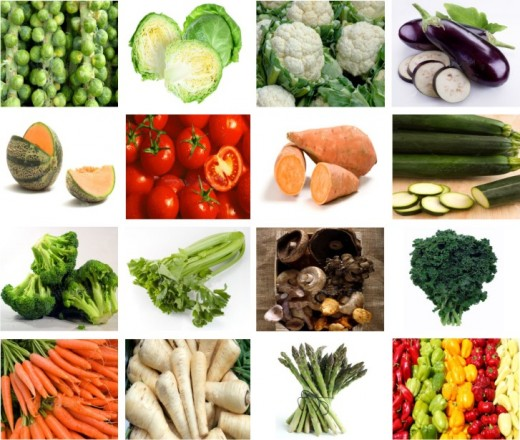 Choice Of Vegetables That Assists In The Cure Of  Cancer