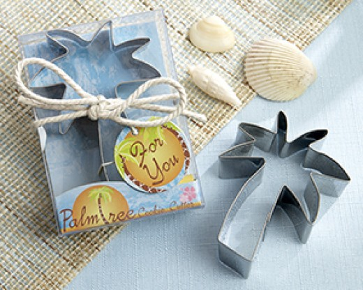 Beach themed shower favor