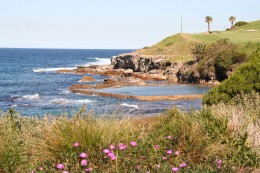 Maroubra seems isolated because of the green headland