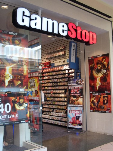 Rare video games can often be found in used game stores like GameStop.