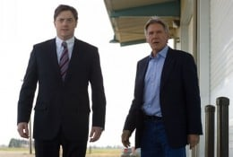 "Scene from the upcoming film ""Extraordinary Measures"" (Brendan Fraser and Harrison Ford)"